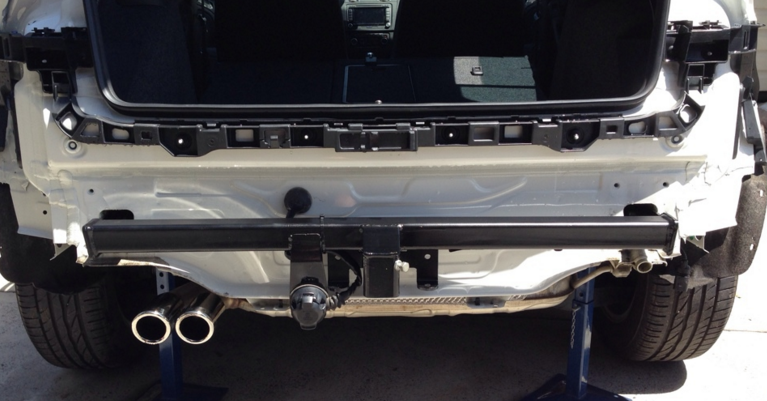 Tow bars and Engine Configuration And Injuires